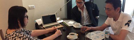 Meeting with Mr.Pan of KMUTT